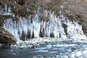 秩父市大滝・三十槌の氷柱