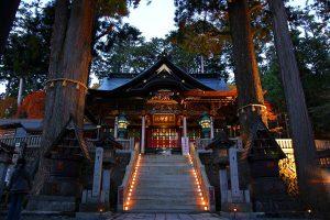 三峯神社・祈りの灯火-イノリノトモシビ-