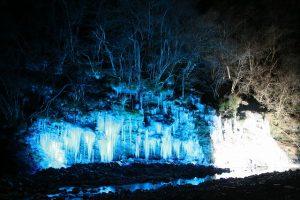 秩父市大滝・三十槌の氷柱ライトマップ