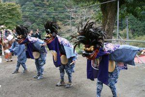 浦山の獅子舞