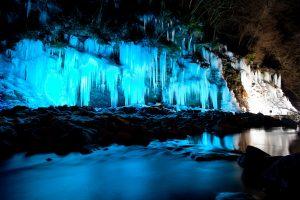 大滝・三十槌氷柱
